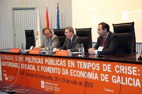 Imaxes - Xornadas sobre Políticas Públicas en tempos de crise: austeridade, eficacia e fomento da economía de Galicia